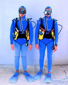 German diver in Antalya