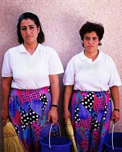 Raumpflegerinnen des Robinsonclubs Lykia-World